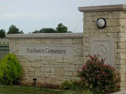 Fairlawn Cemetery Entrance Sign